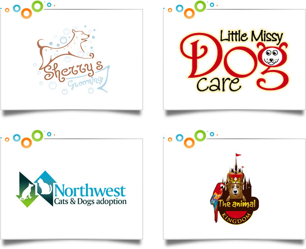 animals pets logo design portfolio custom logo designs
