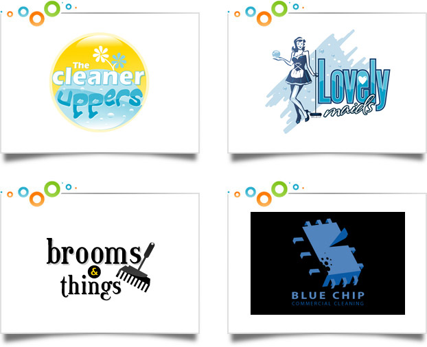 House Cleaning Service Logo Design