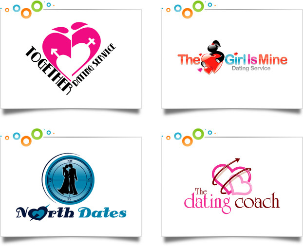 Dating site logo design