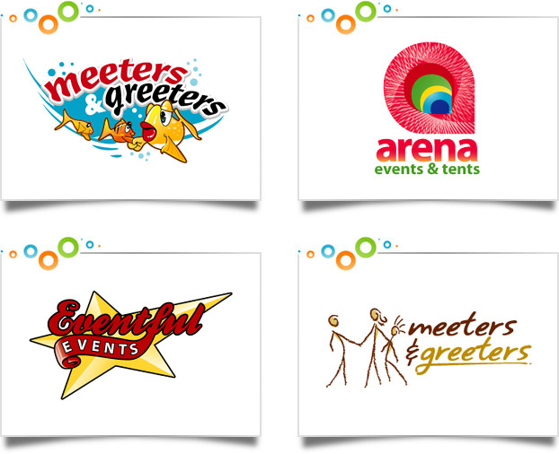 Event Management Logo Designs