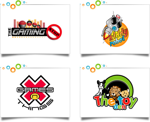 Games Logo Designs