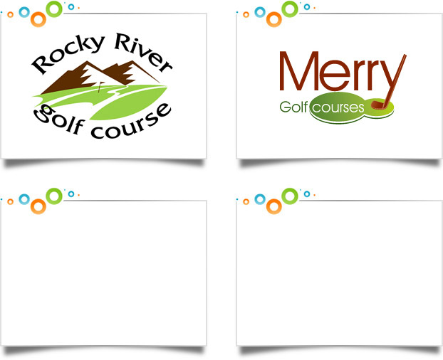 Golf Courses Logo Designs