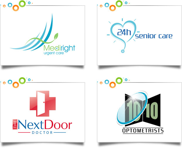 Health Care Logo Design Portfolio Custom Logo Designs