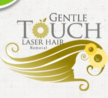 Gentle Touch Laser Hair Removal Logo Design