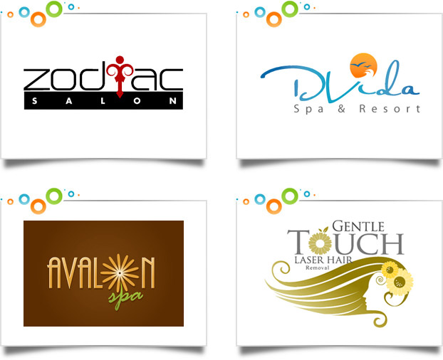 Salon & Day Spa Logo Designs