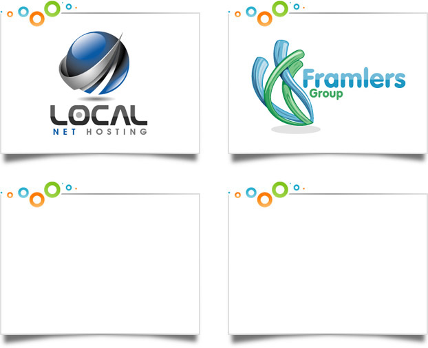 Web Hosting Logo Designs
