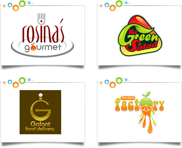 Food Beverage Logo Designs
