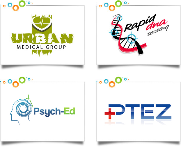 medical logo design portfolio custom logo designs